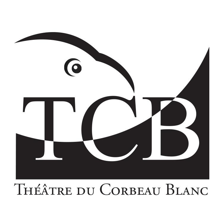 Logo Théâtre du Corbeau Blanc