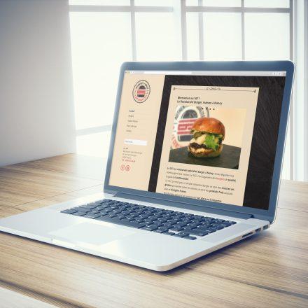 Site Internet Le 167 Burger