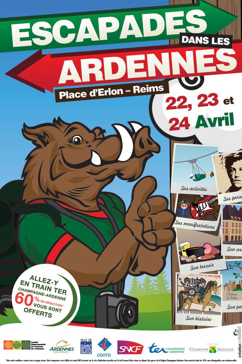 Affiche Escapade Dans Les Ardennes