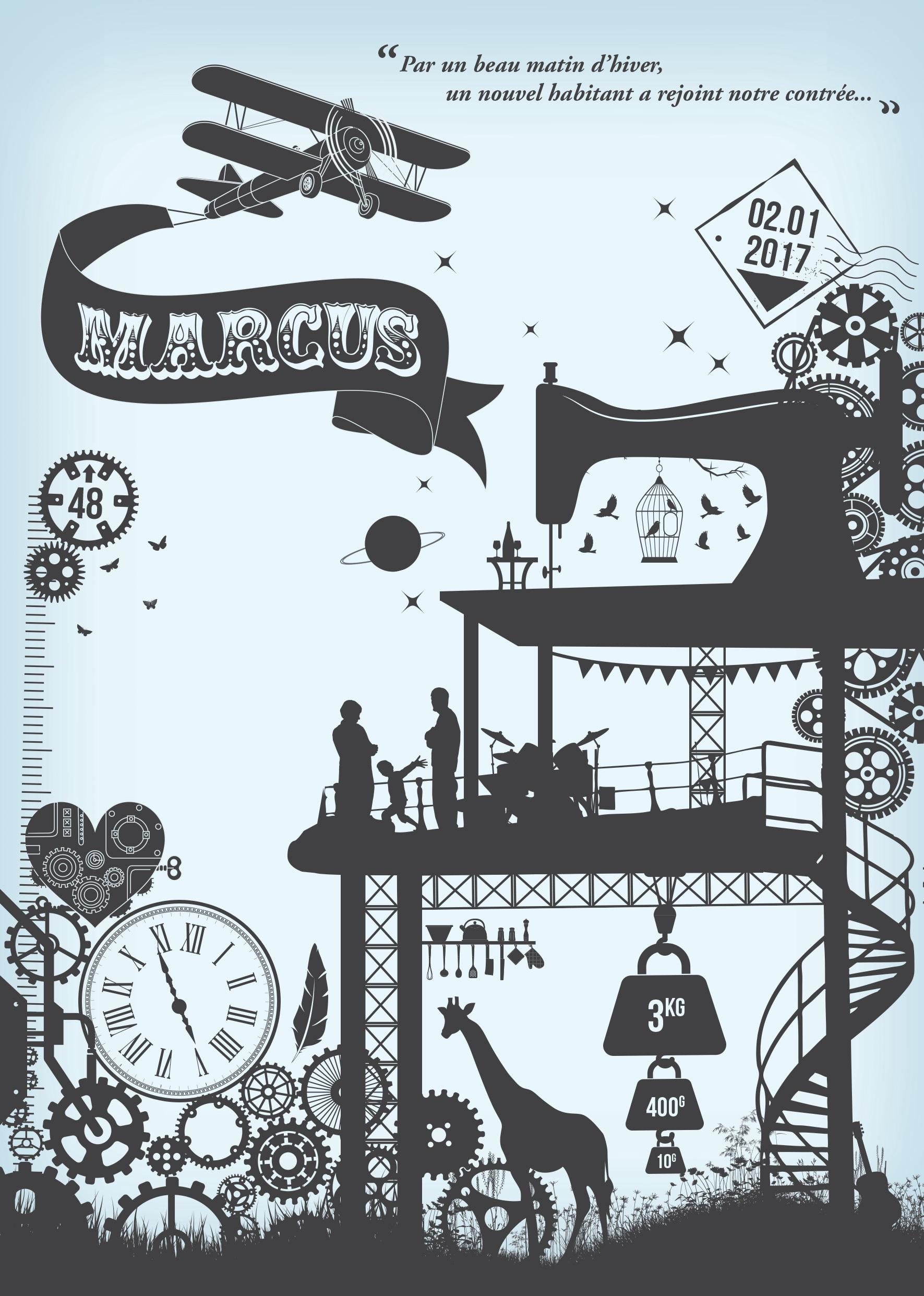 Faire-Part Marcus