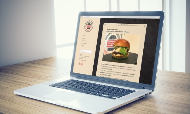 Site Internet Le 167 Burger